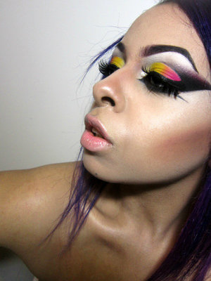 "High fashion cut crease ""c crease"""