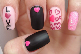 Valentine's Day Mani Inspiration