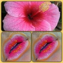 Flower Power Lips