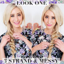 3 Strand Messy Rope Braid