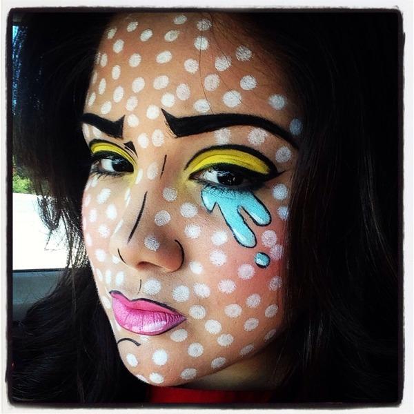 Pop art makeup Halloween : Valerie C.u0026#39;s Photo : Beautylish
