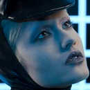 Tron inspired texture story from On Makeup Magazine
