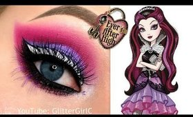 Ever After High RAVEN QUEEN Makeup Tutorial