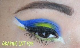 Graphic Cat Eye using Electric Palette