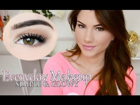 simple everyday makeup look  foreveryours0727 video