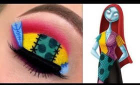 SALLY Makeup Tutorial - The Nightmare Before Christmas