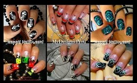 Halloween Nail Art Designs Compilation | MyDesigns4You ♥