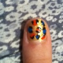Tiger style Nails