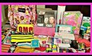 Huge Back to School Supplies Haul + Giveaway 2015!