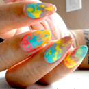 Gradient Splatter Right Hand