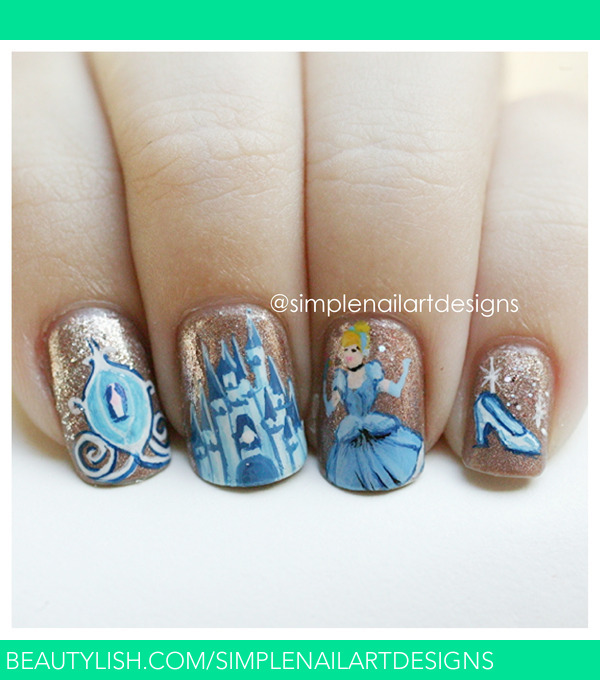 Cinderella Nails | simplenailartdesigns s.'s ...