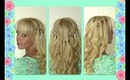 Waterfall Braid | Princess Braid | Braids