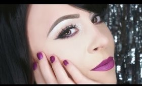 Shimmery Eyes and Matte Lips Makeup Tutorial