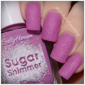 See my swatch and review of #sallyhansen Berried Under: http://www.thepolishedmommy.com/2014/02/sally-hansen-berried-under.html  #purchasedbyme #PaintedPurple4WCD