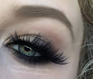 This is part of my last post, here is a close up! http://theyeballqueen.blogspot.com/2015/11/golden-fall-makeup-for-fall.html