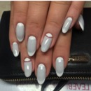 moon french mani