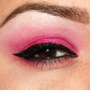 Cotton Candy pink look