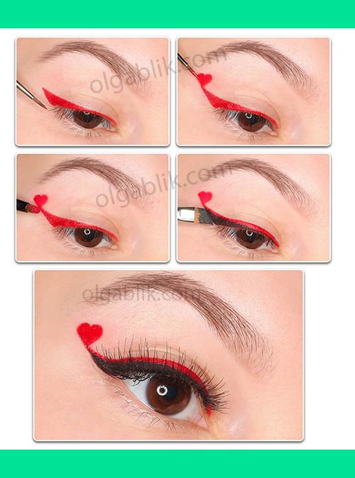 Valentines Day Makeup Hurt Olga Bs Olgablik Photo