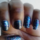China Glaze Midnight Mission & Ulta Pinyata Yada Yada