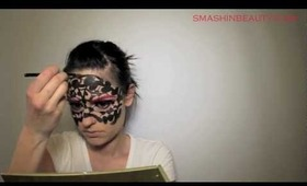 Venetian Carnival Mask Makeup Tutorial (In collaboration with Petra Kozina) 2013