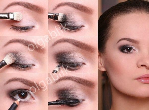 Красивый макияж в домашних условиях поэтапно 104