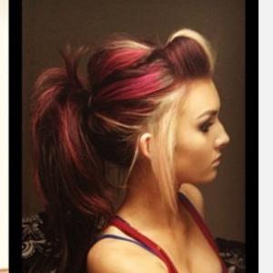 multi color hair beautylish