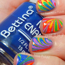 31 Day Challenge Rainbow Nails