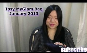 Ipsy MyGlam Bag January 2013