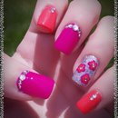 Bling Summer Nails