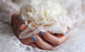 Something Blue: A Manicure for the Modern Bride