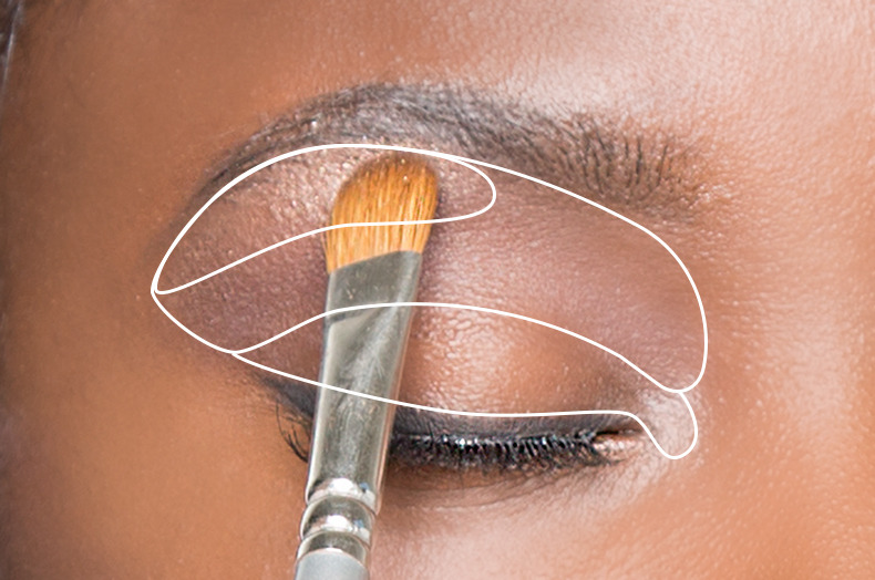 Contouring for eyes