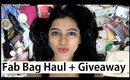 Fab Bag - HUGE Haul + GIVEAWAY (Open!) // Indian Giveaway // SuperWowStyle