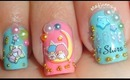 Little Twin Stars Japanese Style Nails - Bornprettystore.com Review + Tutorial