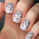 Rhinestone heart gradients