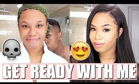 GET READY WITH ME! | I Woke Up Like This to GLAM!! | BeautybyGenecia