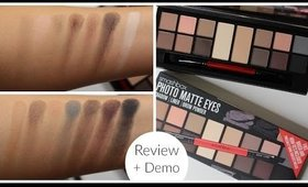 Smashbox Photo Matte Eyes Palette Review | Bailey B.