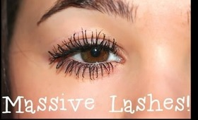 Get Massive Lashes: My Mascara Routine!