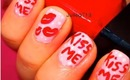 Valentine's Day: Kiss Me Nails
