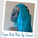 Emily/Corpse Bride Make Up Tutorial.