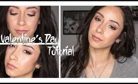 Romantic Smoky Pink Valentine's Day Makeup Tutorial | Ft. Too Faced Chocolate Bon Bons