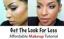 Flawless Face and Golden Smokey Eye | Affordable Makeup Tutorial!