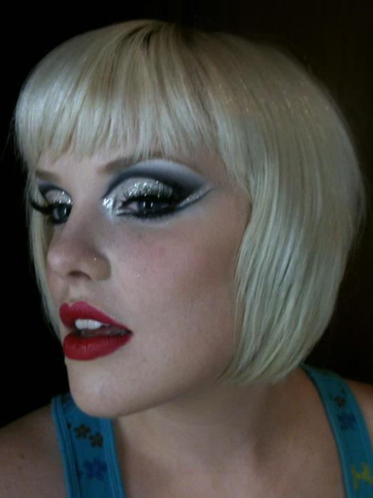 Glittery Burlesque Show Night Makeup Jenn Ms Jennleamakeup