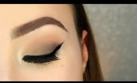 Brown Smokey Eye Makeup Tutorial // Too Faced Chocolate Bon Bons Palette