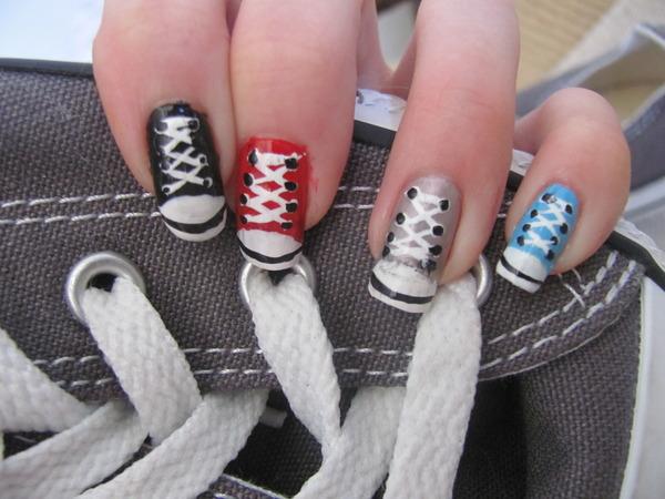 Дизайн необычных ногтей фото