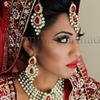 Flawless Asian/Indian Bride Red Lips