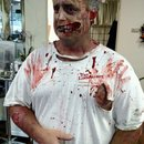 Zombie make up by Christy Farabaugh