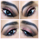 Burgundy Brown Smokey Eyes