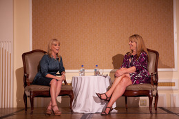 L'Oréal President Carol J. Hamilton at CEW Women in Series Seminar