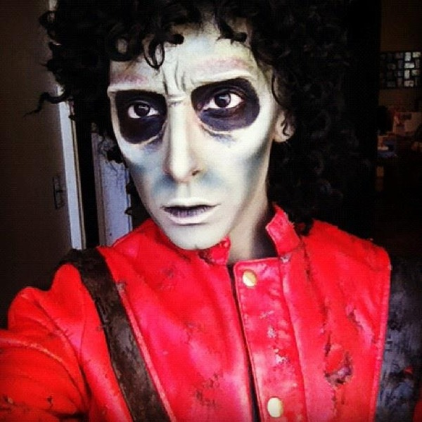 Zombie Michael Jackson Face Paint