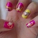 Disney tangled nails